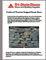 Carderock® Premium Snapped Verneer Brochure